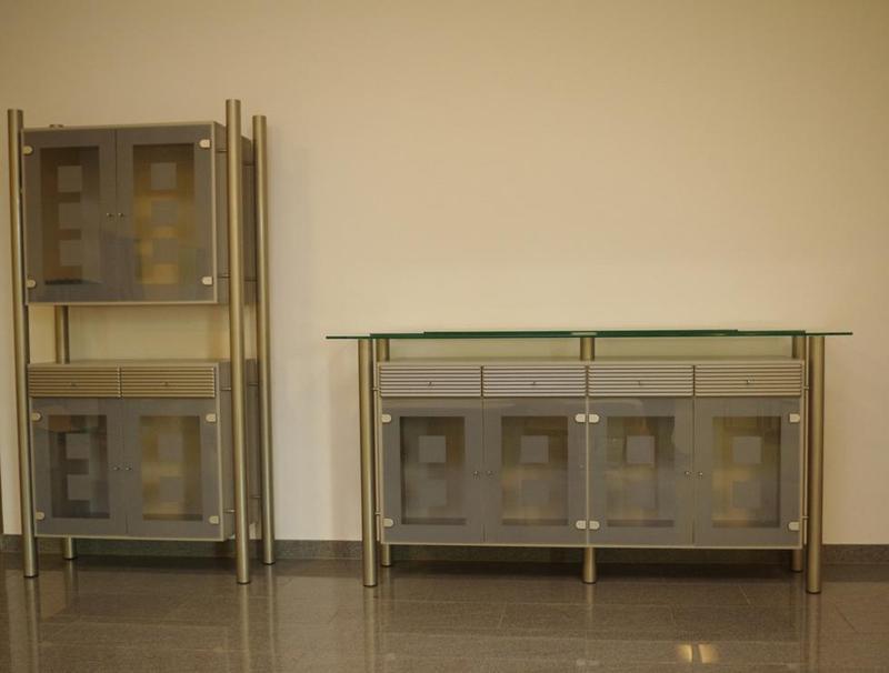 Sonstiges Glas Schrank Wand Sideboard Highboards Vitrinen
